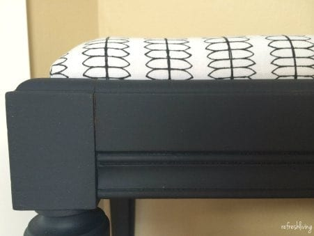 Piano Bench Makeover from Refresh Living
