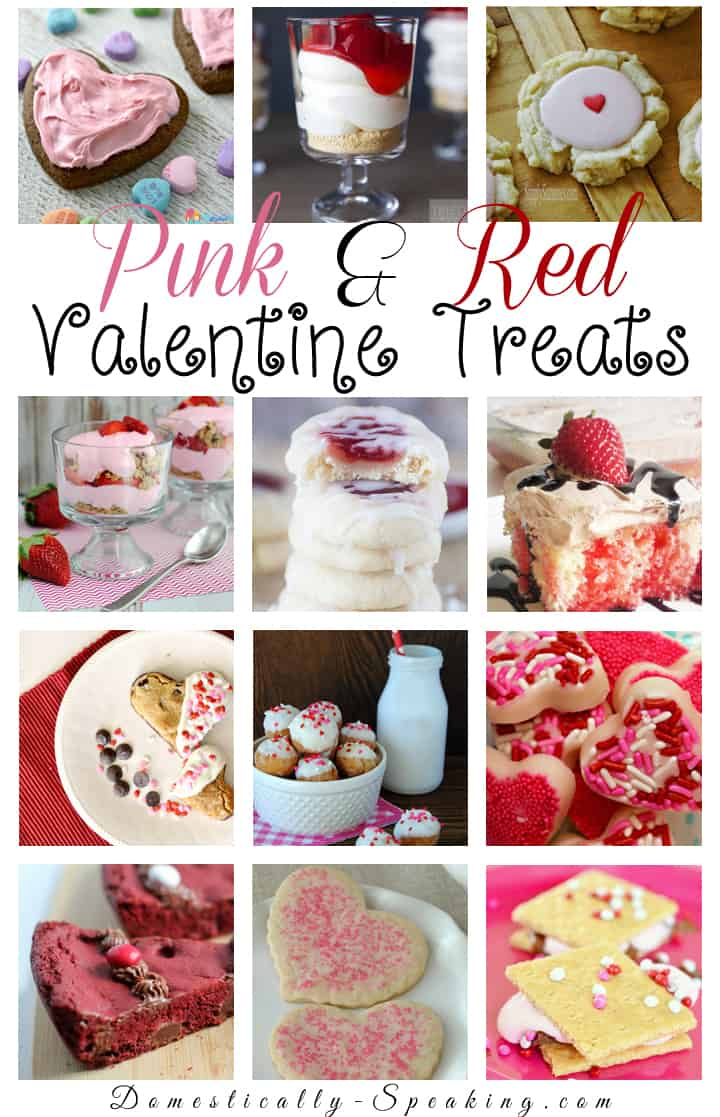 Pink and Red Valentine Treats