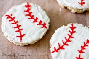Baseball Rice Krispie Treats 2