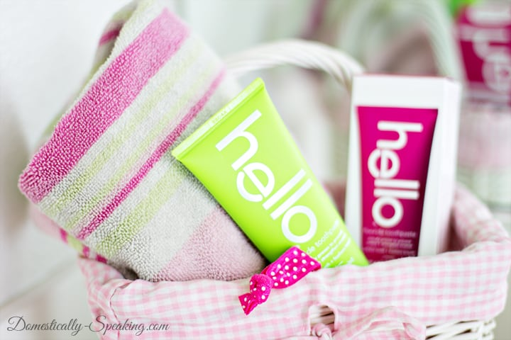 Bathroom Cleaning Checklist with hello 2