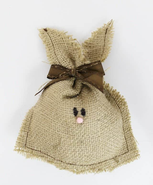 Burlap Bunnies from Our Peaceful Planet