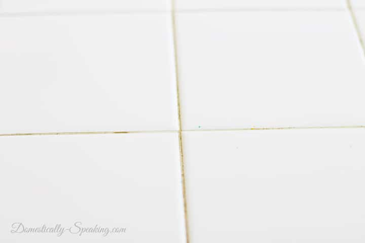 Cleaning White Tile Countertops with Steam No Chemicals 5