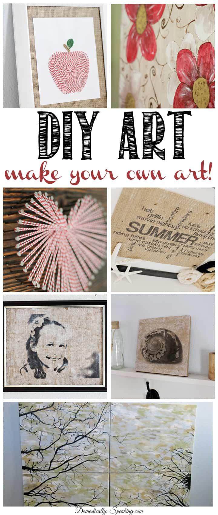 DIY Art make your own artwork