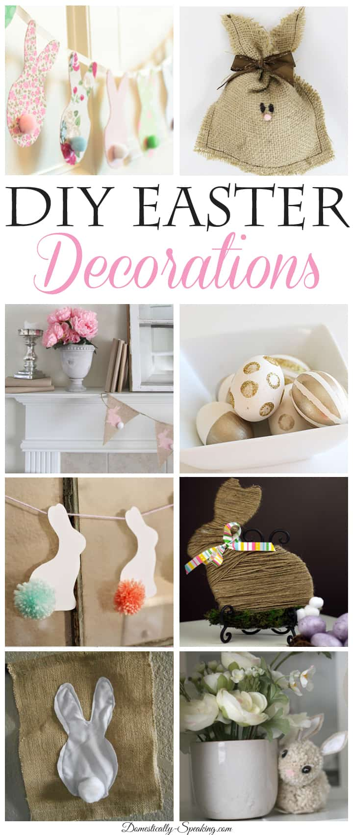 Diy Spring Decor: Domestically Speaking