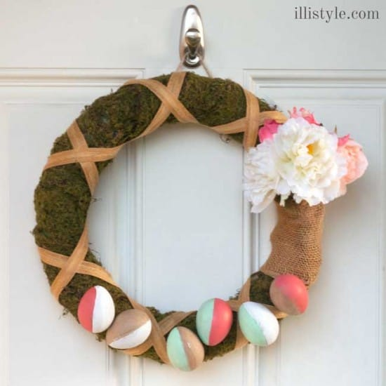 Easy Easter Wreath from Illi Style