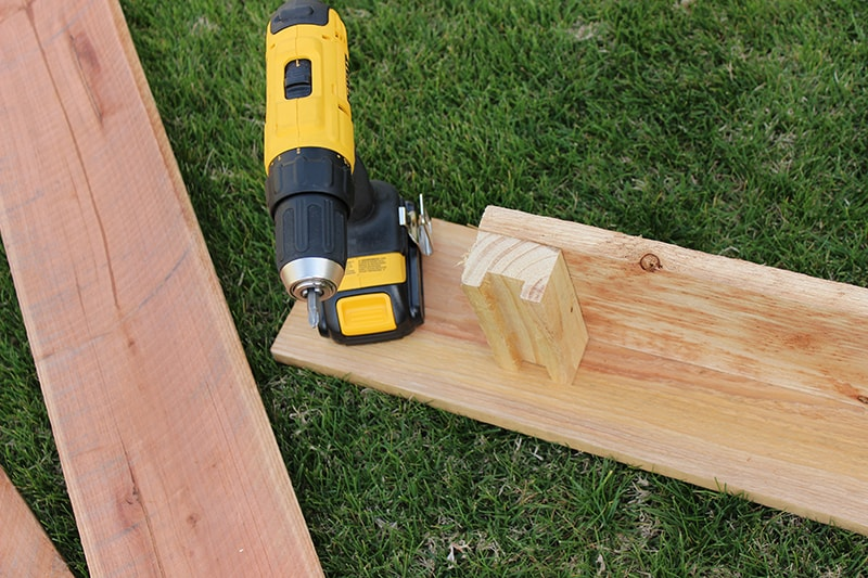DIY Cedar Planter Box for $20