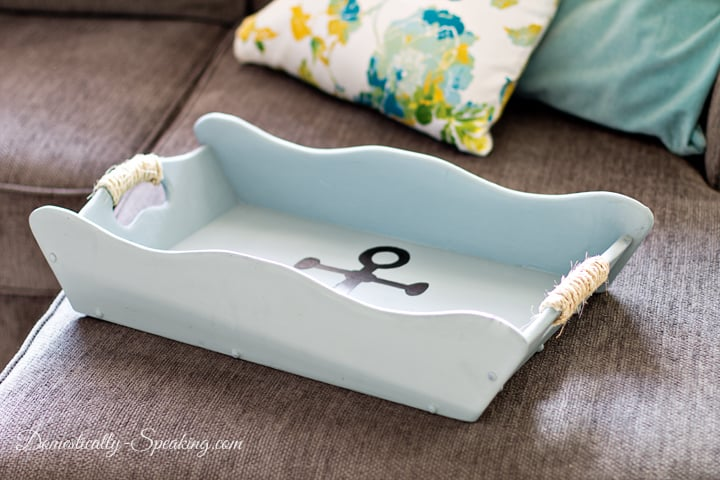 Nautical Tray a Thrift Store Makeover 3