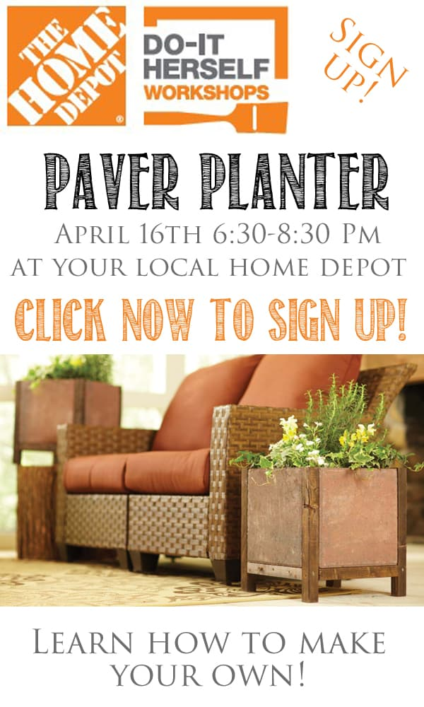 Sign Up Now DIH Workshop Paver Planter Domestically Speaking