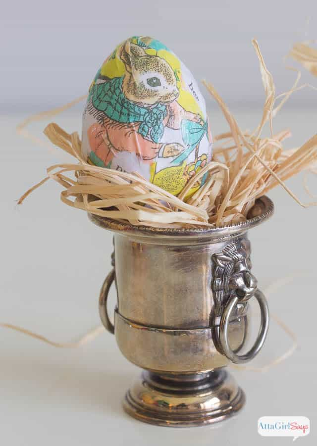 decoupaged-easter-egg-craft from Atta Girl Says