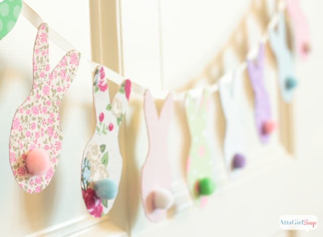 no-sew-knockoff-bunny-banner from Atta Girl