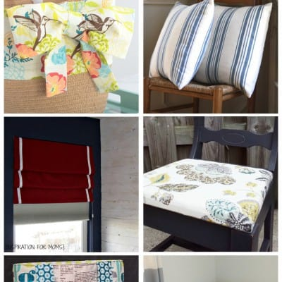 Fun Craft Projects with Fabric… Friday Features