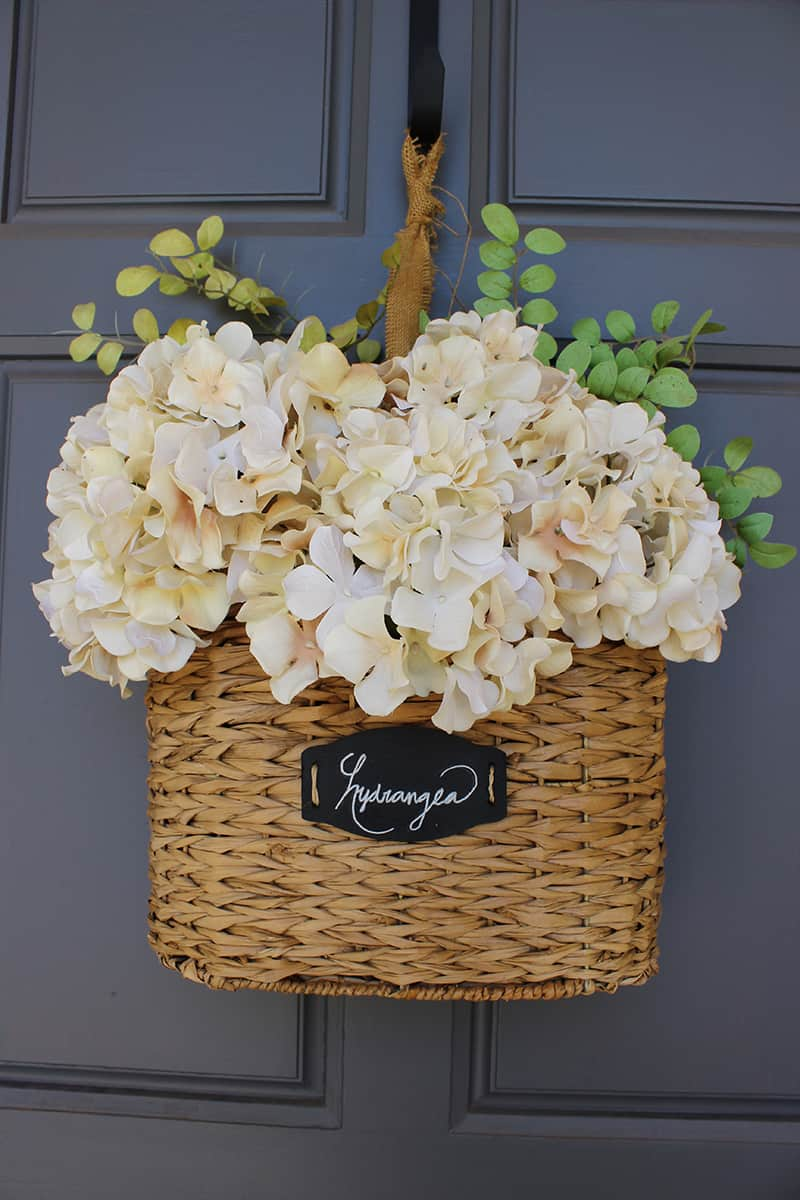 DIY Floral Hanging Basket