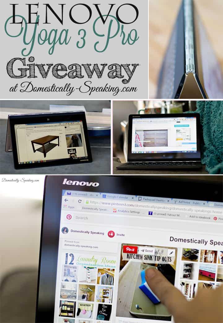 Lenovo Yoga 3 Pro Giveaway 2