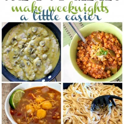 7 One Pot Meals in this week's Friday Features