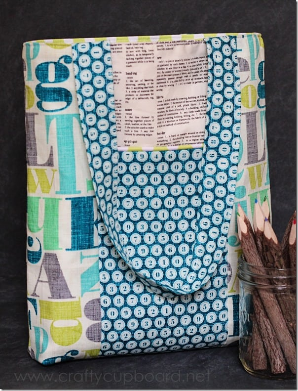 Teacher Tote from Mabey She Made It