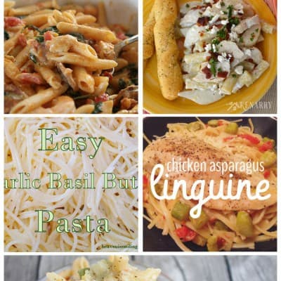 5 Delicious Pasta Recipes… Friday Features