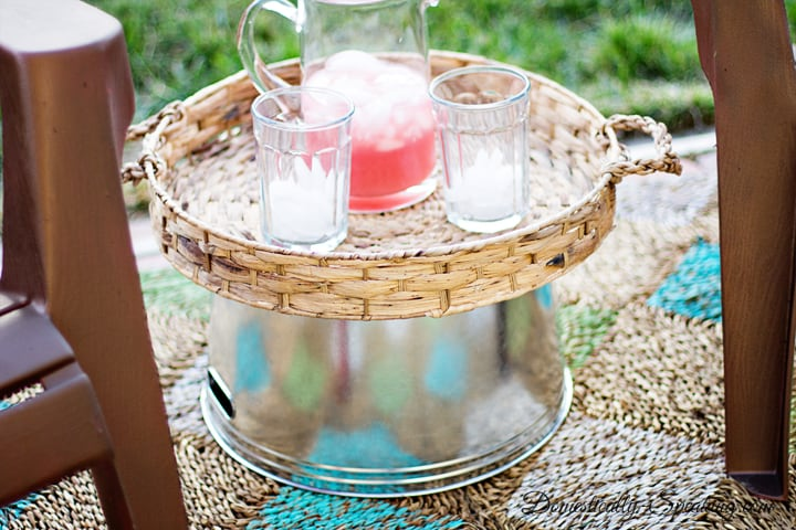 Easiest Outdoor Entertaining Table 5
