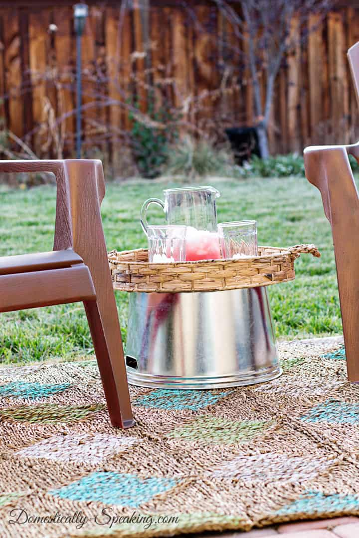 Easiest Outdoor Entertaining Table 6
