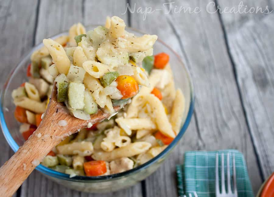 one-pot-Lebanese-Chicken-pasta from Nap-Time Creations