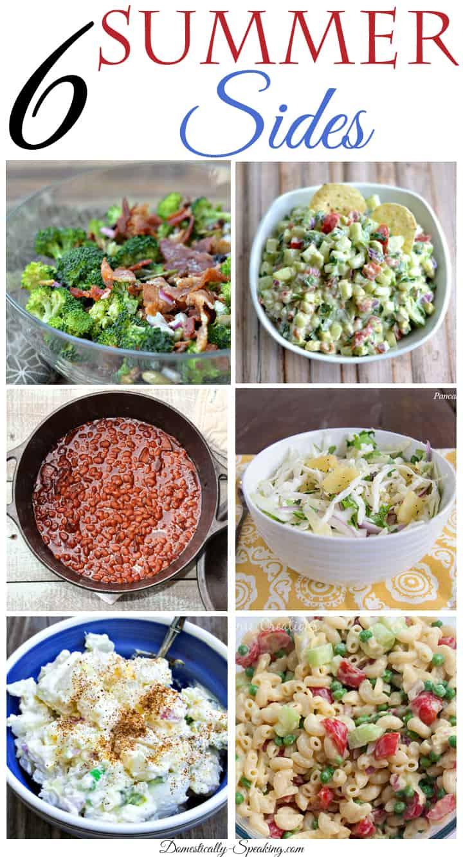 6 Super Summer Side Dishes
