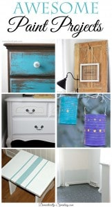 Awesome Paint Projects from Inspire Me Monday