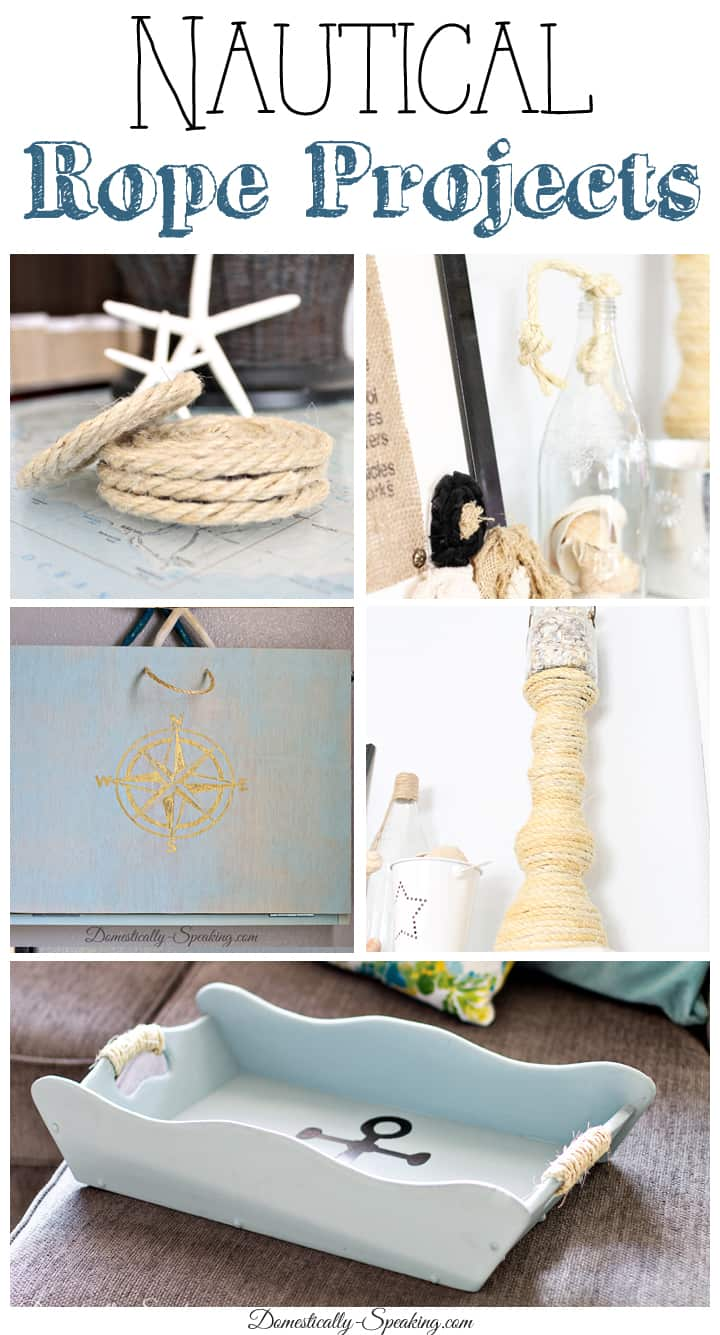 Nautical Rope DIY Projects