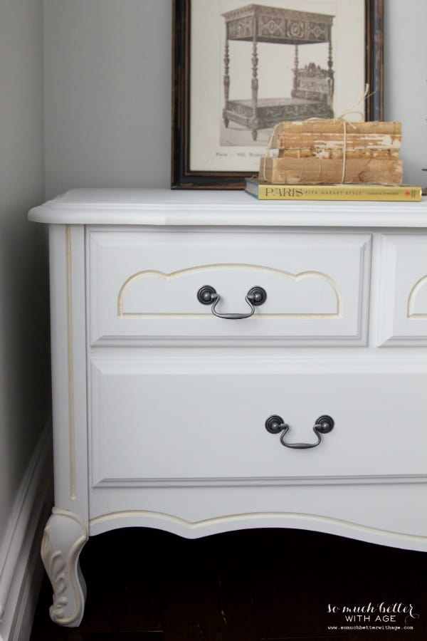 Painted French Hope Chest from So Much Better with Age