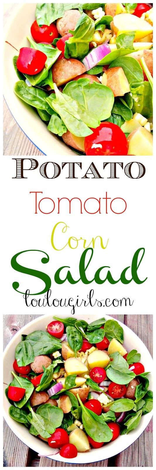 Potato Tomato Corn Salad from Lou Lou Girls