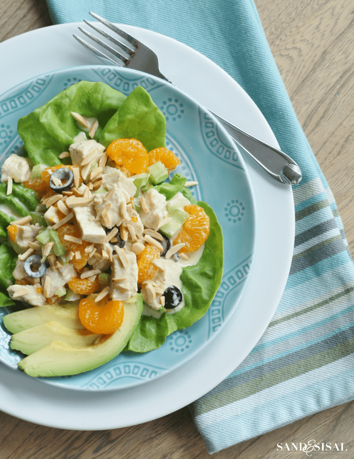 Tangy-Chicken-Salad from Sand and Sisal