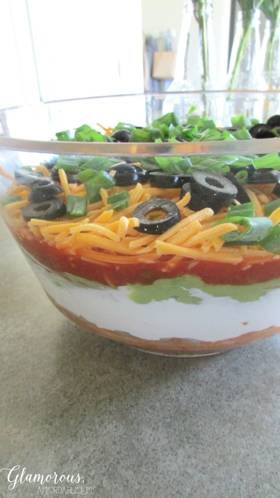 7 Layer Taco Dip from Glamorous Life