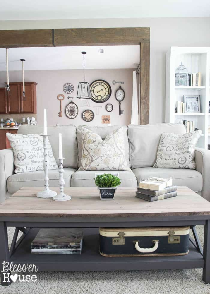 Barn-Wood-Top-Coffee-Table- from Blesser House