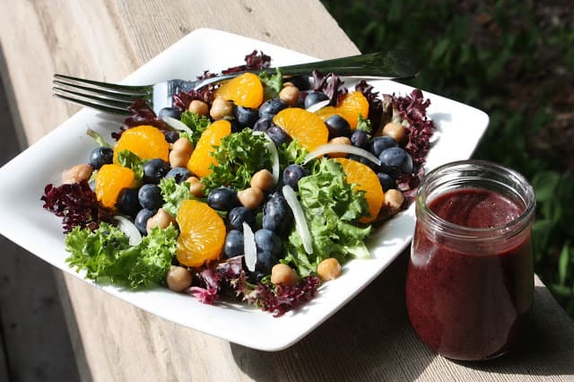 Blueberry and Mandarin Orange Salad from Best of Long Island Central Florida