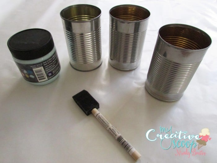 DIY Desk Caddy Tutorial with Recycled Cans