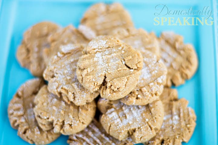 Low Carb Peanut Butter Cookies great with Almond Butter too 1