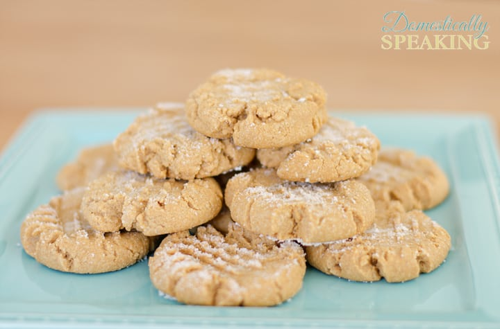 Low Carb Peanut Butter Cookies great with Almond Butter too 2