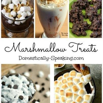 5 Marshmallow Treats | Friday Features