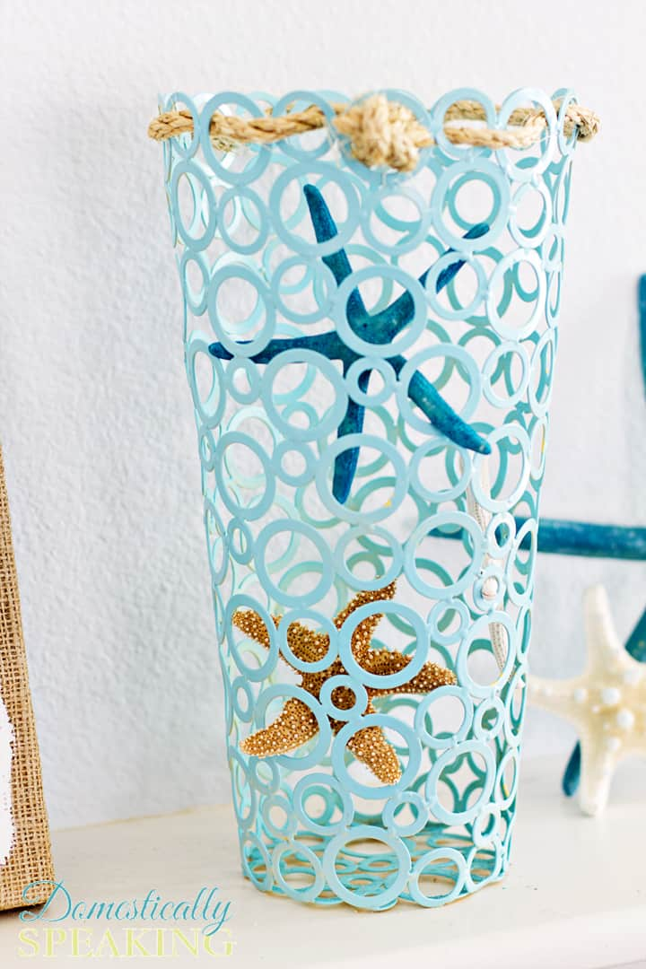 Starfish Vase A Thrift Store Makeover 1