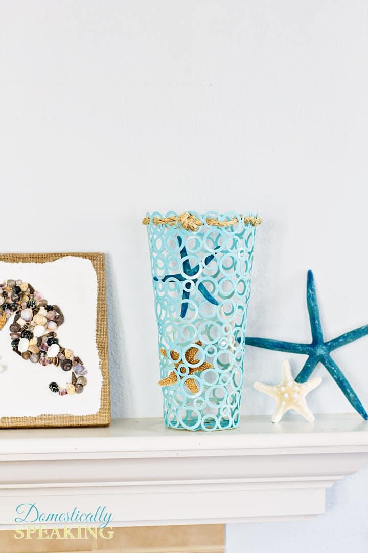 Starfish Vase A Thrift Store Makeover 2