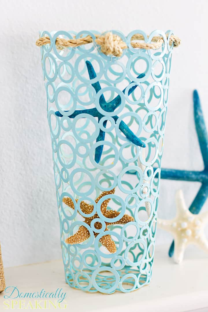 Starfish Vase A Thrift Store Makeover 4