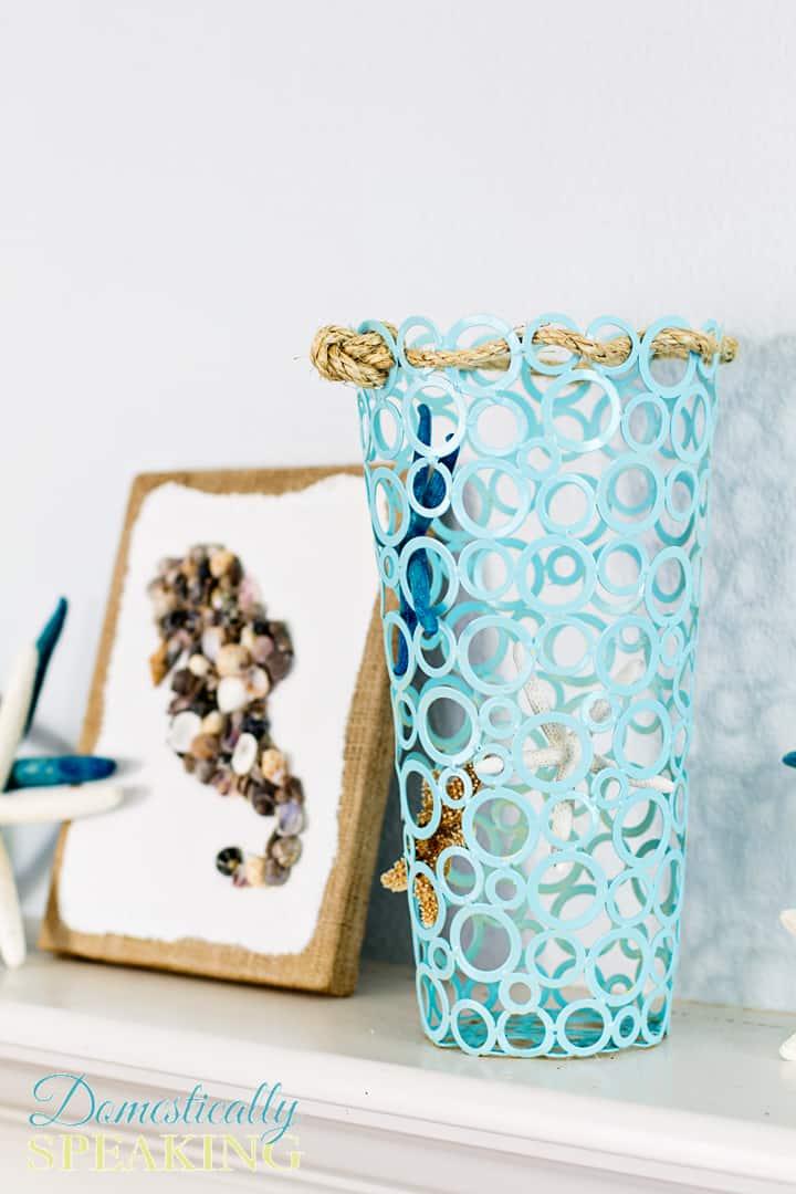 Starfish Vase A Thrift Store Makeover 5