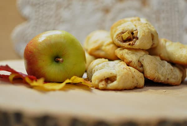 Apple Pie Bites from All She Cooks