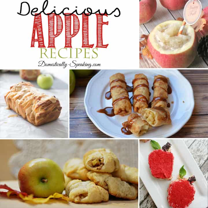 Delicious Apple Recipes perfect for fall