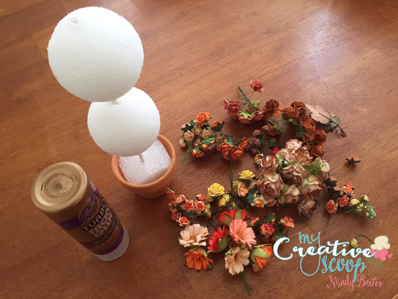Fall Topiary Tutorial Step (5)