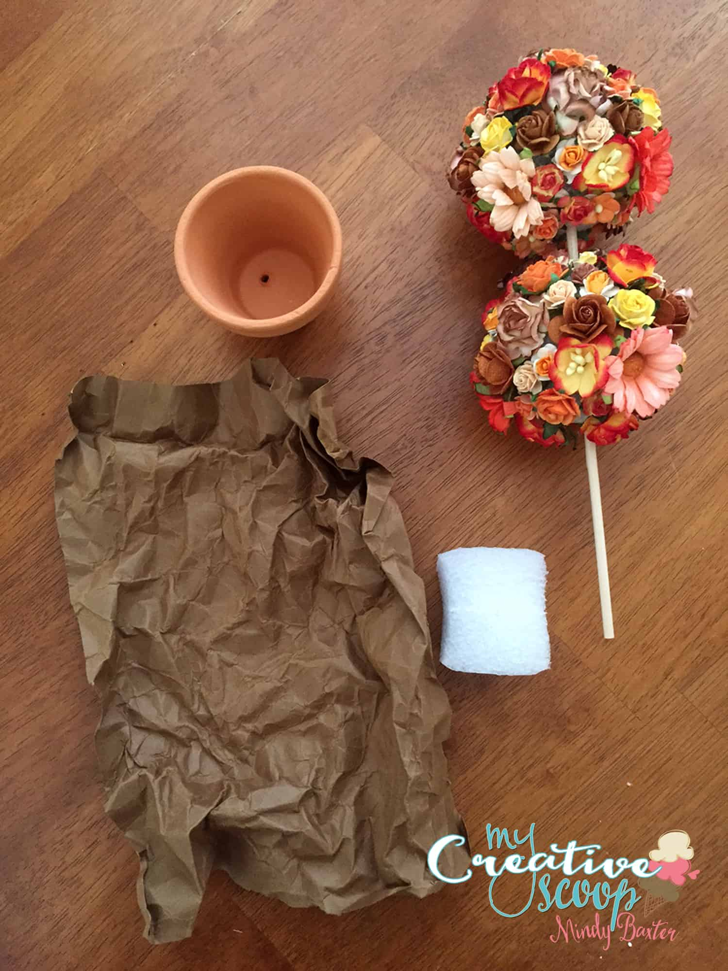 Fall Topiary Tutorial Step (6)