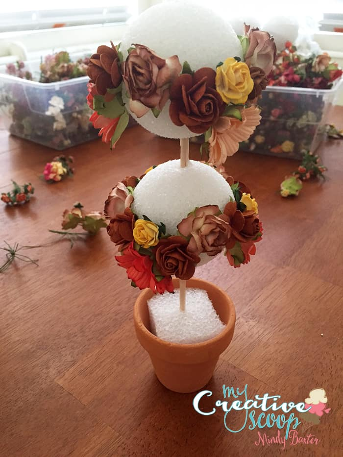 Fall Topiary Tutorial Step (8)