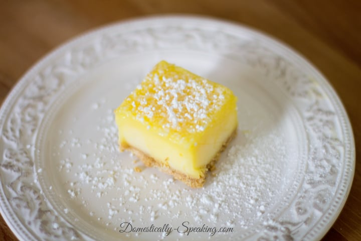 Frozen Lemon Bars 2