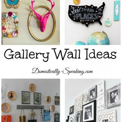 Themed Gallery Wall Ideas |Inspire Me Monday Features