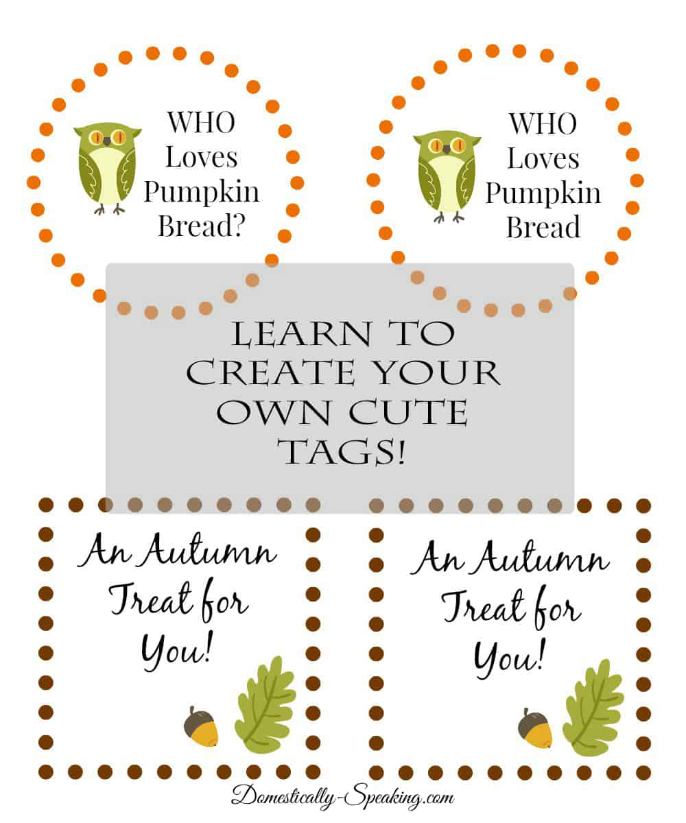 Learn How to Make Your Own Cute Tags