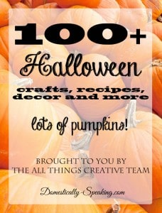 100+ Halloween Crafts, Decor, Recipes and More