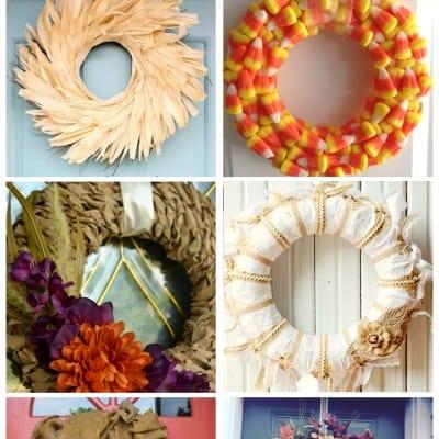 Autumn Wreaths ~ Friday Features